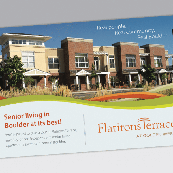 Postcard for Flatirons Terrace Senior Living